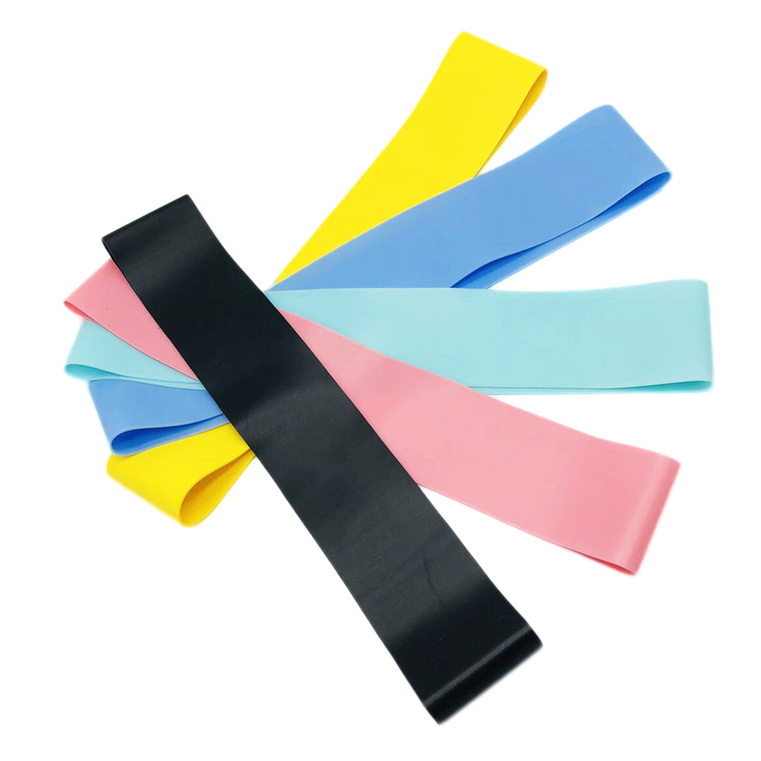 fitness Stretch Custom Printed TPE Exercise Resistance Loop Bands