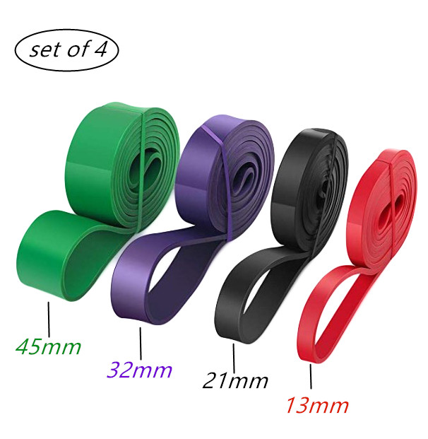 What are the ways to use the fitness resistance band loop bands ?