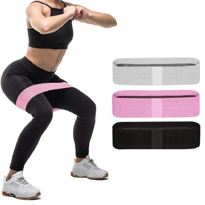 Fabric Booty Bands for Women with Widen and Thicken Fabric(3 Sets) - Non Slip Exercise Bands for Working Out, Physical Therapy, Home Fitness, Strength Resistance Bands for Legs and Butt