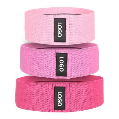 Fabric booty bands, fitness custom resistance bands, workout erexcise bands