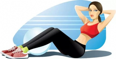 How does the novice exercise the abdominal muscle effectively?