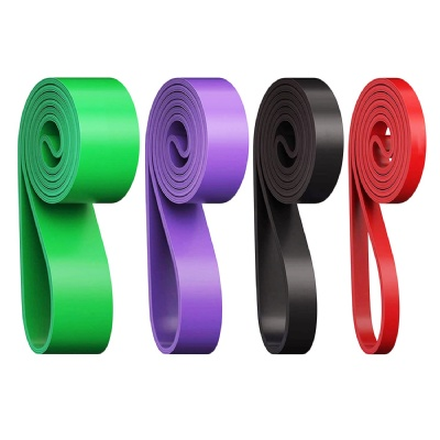 wholesale customized logo high quality pull up assist band / fitness resistance band / power band