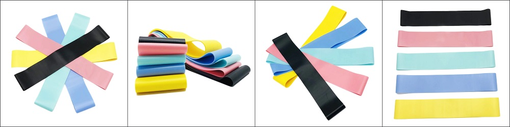 Latex-free resistance band set
