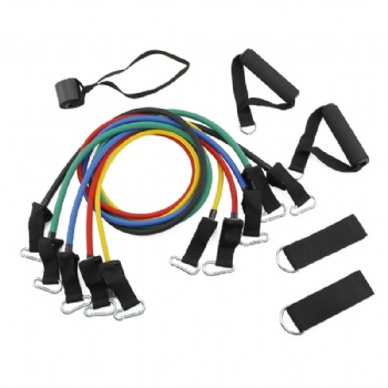 11 pcs Resistance band set resistance tube set