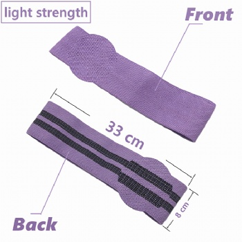 2019 popular hip glute band fabric resistance leg booty elastic bands