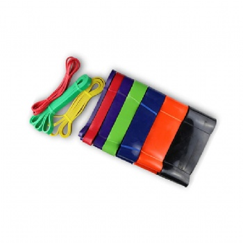 41 length pull up assist bands, power band, resistance latex band