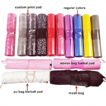 45*10*10 cm Squat Sponge Barbell Leather Shoulder Pad