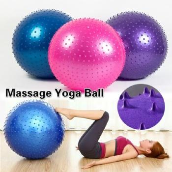 55cm 65cm 75cm Pvc workout Gym Yoga Ball With Air Pump
