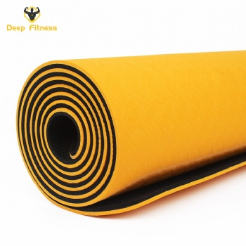 Eco Friendly Durable Color Custom TPE Yoga Mat