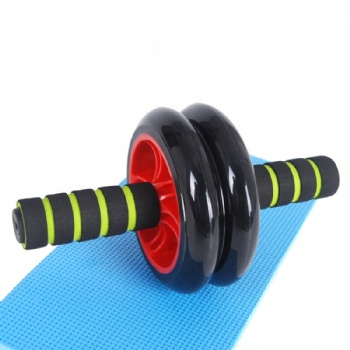Abdominal Exercise AB Wheel Core Workout Roller with Anti-Slip knee pad