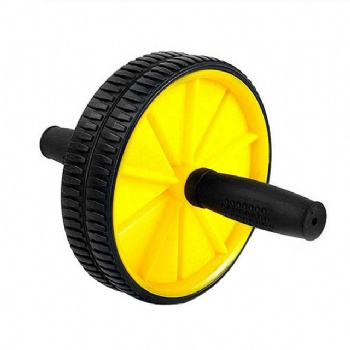 Abdominal Exercise Muscle Training Abs Ab Wheel Roller with Mat