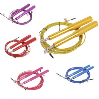 Adjustable Stainless Steel Wire Aluminum speed Jump Rope