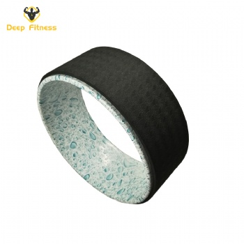 Amazon hot sale high quality eco-friendly pvc yoga wheel