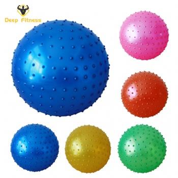 Anti burst Customized logo PVC Fitness yoga ball for Yoga Exercise