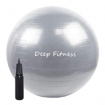 Anti-burst Stability ball Balance Yoga Ball with Custom logo color and pump