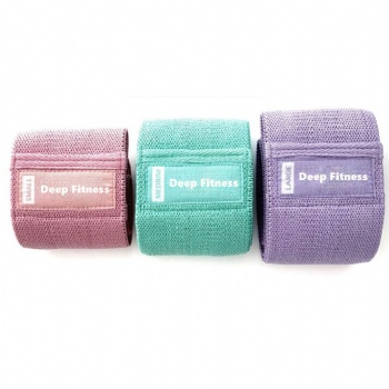 Best selling products rolled fitness resistance band wholesale resistance loop bands set of 3