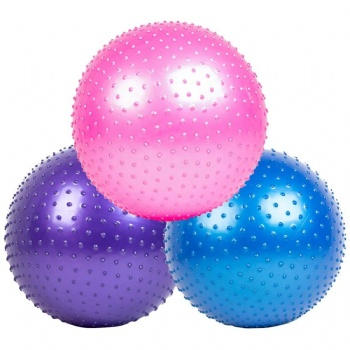China Factory inflatable PVC Gym ball Exercise Yoga ball for body fitness