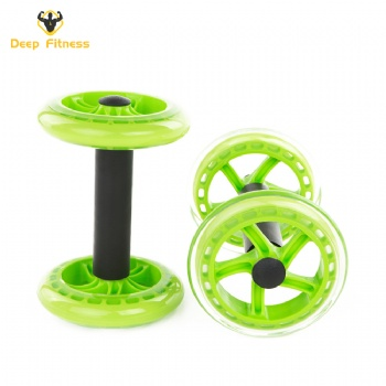 Chinese factory gym workout AB wheel fitness equipment