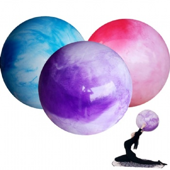 Customized logo pvc Yoga Ball inflatable Massage Ball Gym Ball