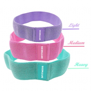 Digital pull-up running bands fabric resistance bands / booty band / Hip circle band