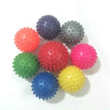 Eco-Friendly PVC Spiky Massage Ball Small body Exercise massage Ball