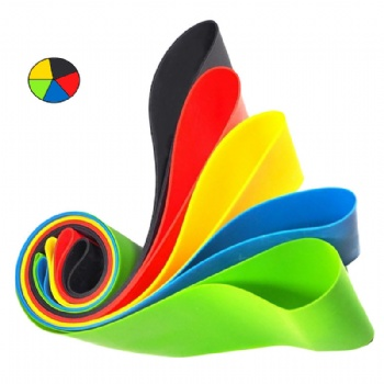 Eco friendly exercise rubber band High Quality Resistance Loop Bands