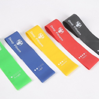 Elastic Bodybuilding Latex Band Exercise Loop Workout bands