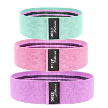 Elastic Resistance Bands Fashion Cotton Fitness Elastic Band