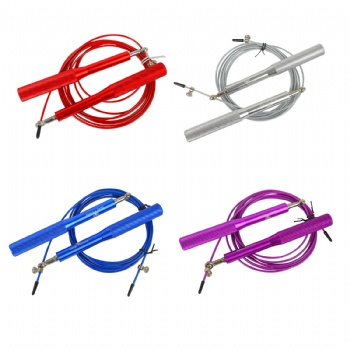 Exercise Fitness High Fast Speed Rope Skipping Rope For Fitness Metal Fitness Jump Rope