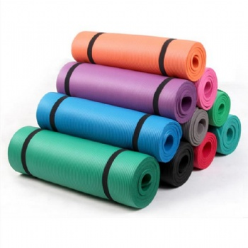 Exercise Yoga Mat with Carry Strip  Print Roll Bulk Fitness yoga mat