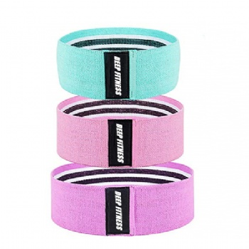 Fabric Hip Band Elastic fitness Booty Band for bodybuilding