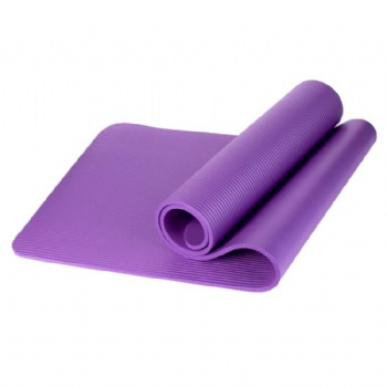 Factory direct sale yoga matt Custom logo ECO Friendly NBR Yoga Mat