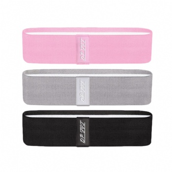 Gym Exercise Booty Hip Fabric Resistance Bands with custom logo