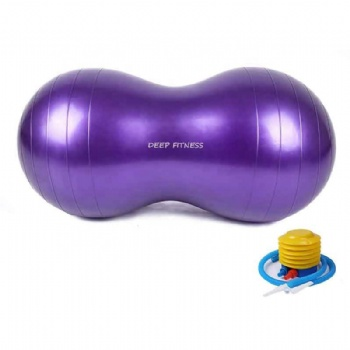 Gym exercise Peanut Yoga Ball PVC yoga ball