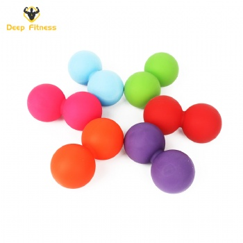 Gym fitness body building foot peanut massage ball eco friendly massage roller ball