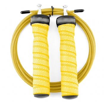 Heavy Exercise Sweatband Weighted Skipping Speed Jump Rope With Steel Wire