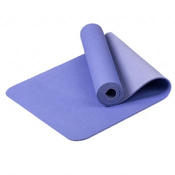 High quality Digital Printed eco friendly TPE Yoga Mat With logo