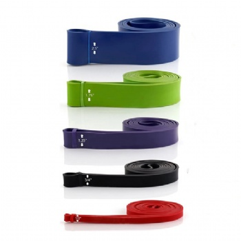 High quality Pull Up Assist Band natural latex resistance power band