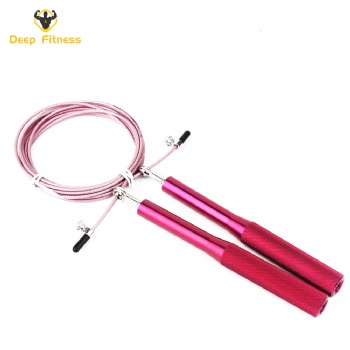 High quality Skipping Rope Aluminum Handle Jump Rope Cable Premium Quality