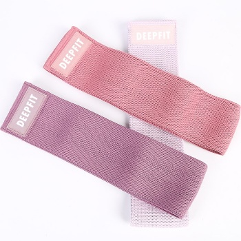 Hip Exercise Bands Hip Circle Booty Bands Sets Wholesale Set of 3 Fabric bands