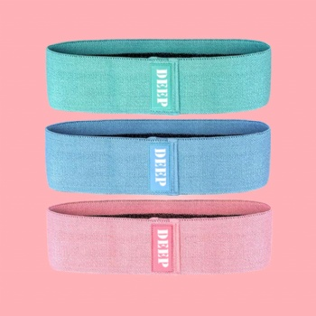 Hip Resistance Booty Grips Pink Yoga Stretching Non-slip resistance bands