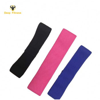Hot Sale Hip Circle Bands  Fabric Booty Elastic Resistance Band with 3 Resistance