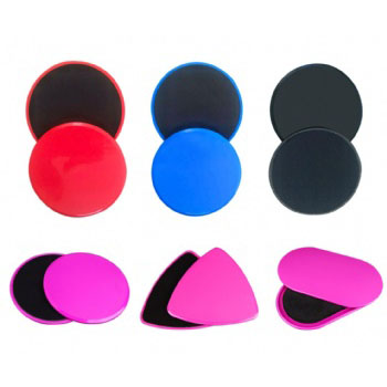 Manufacturer Functional fitness Dual Core Slider Disc Gliding discs Fitness sliders