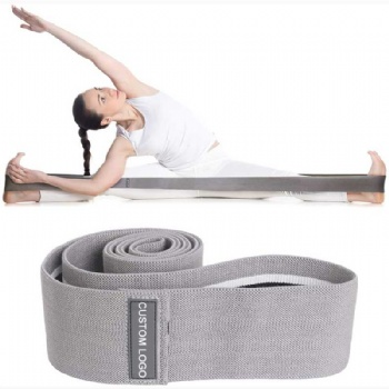 New Style Yoga Exercises Fitness Long Size Fabric Resistance Hip Bands