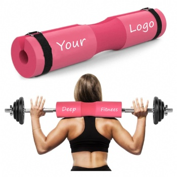 Non Slip Barbell Pad Custom logo color Foam Sponge Barbell Pad Squat Pad for Squats, Lunges and Hip Thrusts Gym fitness