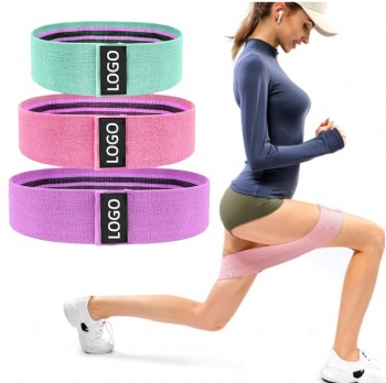 Non Slip Fabric Resistance Bands Booty Bands Hip Bands for Legs