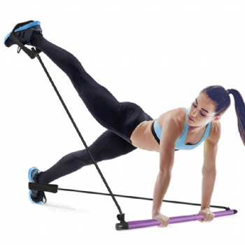 Portable Pilates Total Body Workout Yoga Fitness Pilates Resistance Band