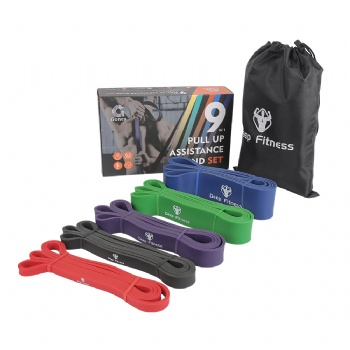 Pull Up Assist Bands Set, Fitness Heavy Duty Resistance Bands, Assistance Training Band