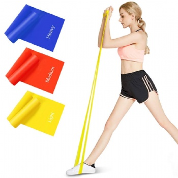 Resistance Bands, Latex Exercise Bands with Different Resistance Levels, Skin-Friendly Elastic Bands with Carrying Pouch for Home Workout, Strength Training, Physical Therapy, Yoga, Pilate
