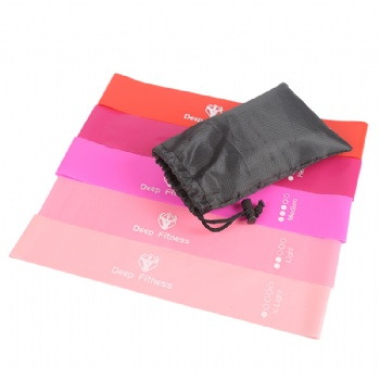 Resistance Loop Exercise Bands with carry bag